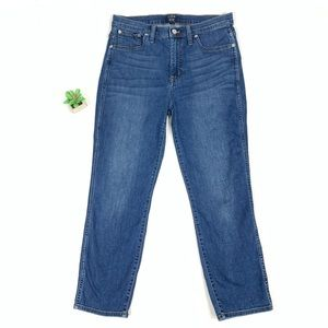 J.Crew High Rise Vintage Straight Jeans size 29
